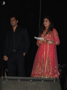L to R Vikas Pattni, Riya Sharma (1)