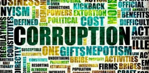 Corruption Cloud Courtesy of The African Economist