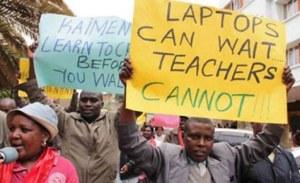 Kenyan Teachers Courtesy Teachers Solidarity