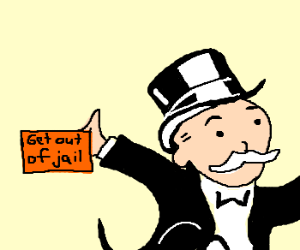 Get Out of Jail Courtesy Drawception