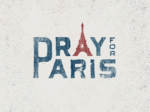 Pray for Paris Courtesy AbduZeedo